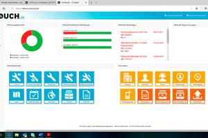 Über die Browser-Anwendung lassen sich neue Betriebsmittel anlegen, Nutzungsbewegungen von Werkzeugen nachvollziehen und Geräte reservieren
