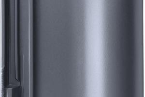 """Der neue """"E 58 SL-D"""" in Schiefergrau hat eine matt glänzende Oberfläche. Schnittkanten müssen wegen der Durchfärbung des Ziegels nicht ausgebessert werden"""