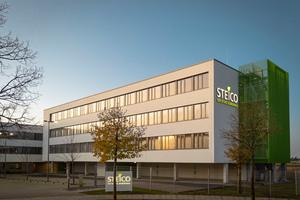 Die Steico-Firmenzentrale in Feldkirchen<br />