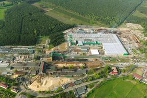 Das Steico-Werk in Czarna Woda (Polen)<br />