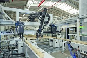 Das maximale Teilegewicht, welches der Roboter aufnehmen kann, beträgt 75 kg