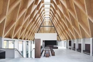 Blick in eines der neuen Gebäude des Freilichtmuseums Molfsee<br />