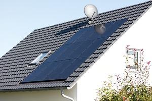 Das dachintegrierte Photovoltaik-System von Creaton bildet eine ästhetische Einheit mit der Dacheindeckung<br /><br />