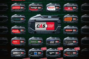 Aktuell sind 24 Hersteller Teil des Cordless Alliance System (CAS). Weitere folgen im Laufe des Jahres. Mit CAS Connect hat jetzt jeder Händler, der mindestens einen CAS Partner im Programm hat, auch Zugriff auf weitere Hersteller aus dem Akku-Netzwerk<br />