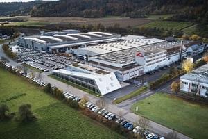 Der Stammsitz der Roto Frank Dachsystem-Technologie in Bad Mergentheim