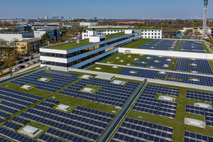 Zusammen mit den Stadtwerken München (SWM) wurde auf dem Centro Tesoro die derzeit größe Aufdach-Solaranlage Münchens realisiert<br />