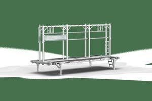 Die Ladehilfe H-Bock ist ist in 7,45 m Länge erhältlich...