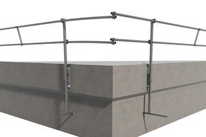 Zertifizierte Sicherheit bietet Sifatec seinen Kunden mit dem temporären Flachdach-Seitenschutz