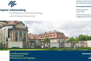 Das Seminarprogramm der Propstei Johannesberg für 2021/2022 ist ab sofort online verfügbar