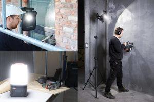 Die Akku-Leuchten von Scangrip kommen überall dort zum Einsatz, wo dunkle Arbeitsbereiche ausgeleuchtet werden sollen<br />