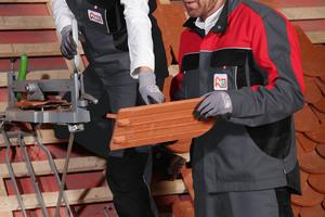 Die Dachdeckerkollektion von CWS richtet sich an Innungsmitglieder, die ihre Zugehörigkeit zum Fachverband demonstrieren und die Vorteile des Mietservice nutzen wollen