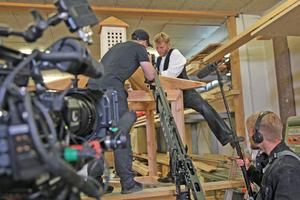 Zwei Wochen lang begleitete ein Filmteam des SWR Friedrich Dippon bei der Arbeit