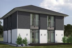 """Mit dem Fassadensystem """"Pure"""" ermöglicht Osmo die Gestaltung moderner Holzfassaden mit einem von außen nicht sichtbaren Montagesystem"""