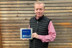 Vorstand Thomas Elster freut sich, dass die Zahl der Partner im 81fünf-Netzwerk weiter steigt. Aktuell sind 95 Holzbau- und Zimmereibetriebe sowie Planer Teil des Holzbaunetzwerks