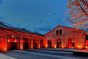 Die Wagenhallen Stuttgart als Veranstaltungsort bieten viel Platz für den gemeinsamen Austausch beim Zukunftstag im Oktober 2021<br />