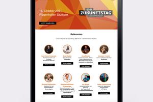 Das Programm steht: Am 14. Oktober 2021 startet der erste Creaton Zukunftstag in Stuttgart<br />