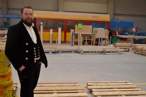Zimmermeister und Dachdeckermeister Uwe Klingebiel hat das Unternehmen Eco-Timber 2019 gegründet und will künftig weiter expandieren<br />
