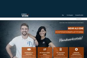 """Die Plattform """"Check and Work"""" bietet die Möglichkeit, Unterstützung von anderen Betrieben für Großaufträge und Auftragsspitzen zu erhalten<br />"""