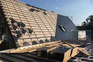 Die Solardachziegel von Solteq können auf einer 40x60mm oder 28x58mm Dachlattung verlegt werden