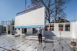 Eine genaue Vorplanung und ein hoher Vorfertigungsgrad sorgten für eine reibungslose Montage auf der Baustelle