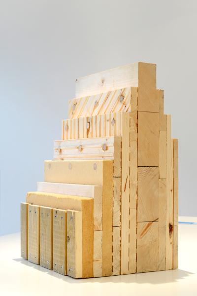 Extrem 90 Prozent Holz Der Woodcube auf der Internationalen BU35