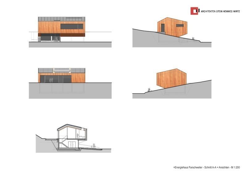 Hochsitz Aus Holz Ohne Leim: Plusenergiehaus Mit Massiven Wänden Und Decken  Aus Gedübeltem Brettstapelholz   Bauhandwerk