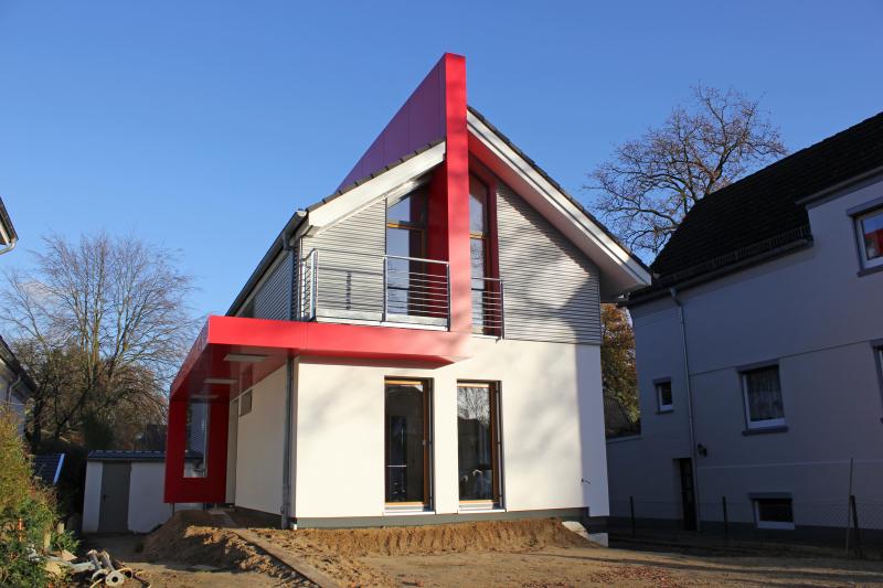 Gute Dämmung Im Solar Plus Haus Bauhandwerk
