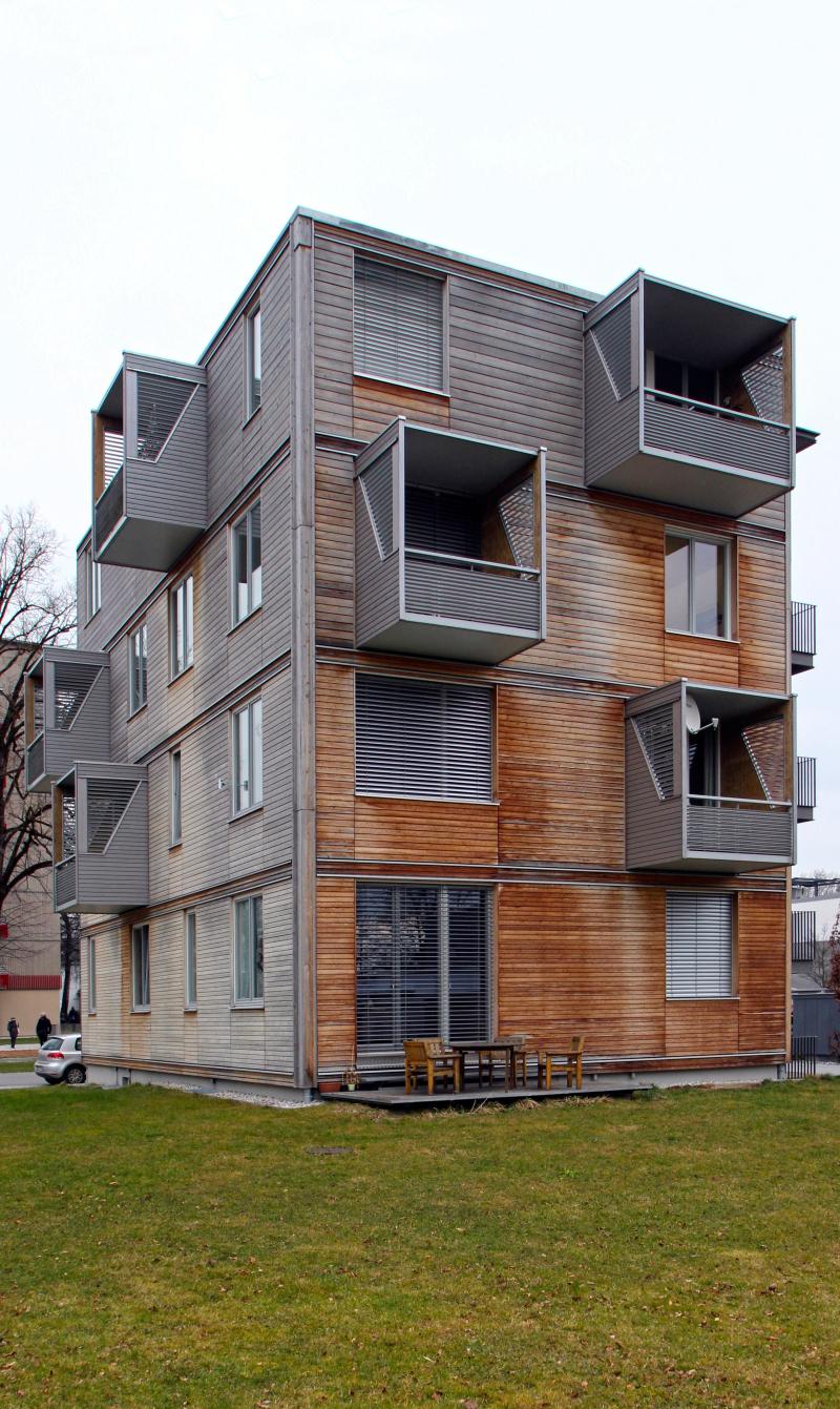 Stadt aus Holz\
