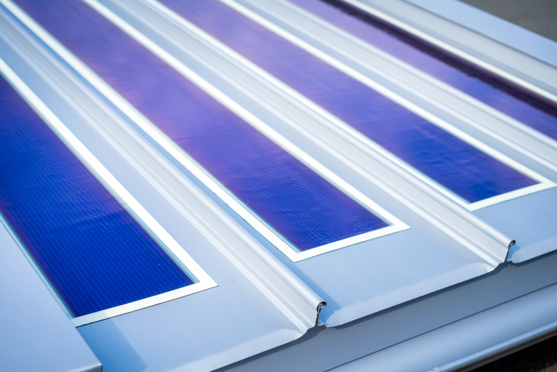 Dachprofil Mit Solarbahn Bauhandwerk