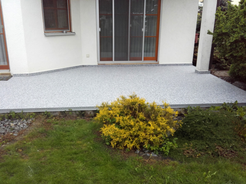 Steinteppich Statt Platten Bauhandwerk