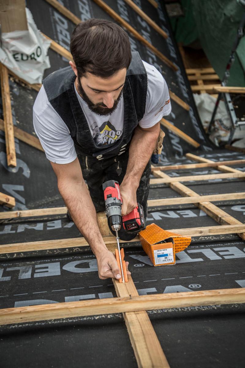 Heco-Software berechnet den Schraubenbedarf für neuen Dachstuhl in ...