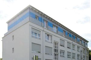 Die fertiggestellte Aufstockung mit neuer Fassade Fotos (2): Steko