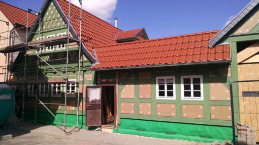 Fachwerk Fußboden Dämmen ~ Historisches fachwerkhaus neu gebaut bauhandwerk