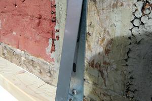 """Befestigungswinkel des """"Durio""""-Systems <span class=""""bildnachweis"""">Foto: Gutex</span>"""