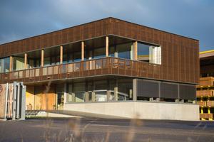 """Verwaltungsgebäude der Scheiffele-Schmiederer KG in Philippsburg <span class=""""bildnachweis"""">Fotos: FNR/Dörthe Hagenguth</span>"""