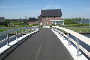"""""""Brücke J Blauwestad"""" im niederländischen Winschoten<br />"""