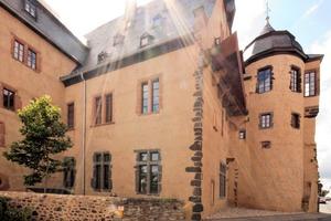 """Nach jahrelangem Leerstand wurde das Solms-Hohensolmser Schloss mit einer behutsamen Sanierung und Instandsetzung einer zeitgemäßen Nutzung in historischem Ambiente zugeführt<span class=""""bildnachweis"""">Foto: Konbau GmbH</span>"""