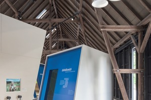 Die Zimmerei Struthmann aus Wingerode hat die alte Remise zum Ausstellungs- und Verkaufsraum umgebaut. Die Remise kam in die engere Auswahl für den Holzbaupreis Niedersachsen<br /><br /><br />