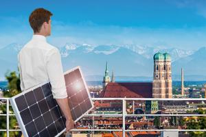 Branchentreff der Solarbranche: Die Intersolar vom 22.-24. Juni 2016 in München⇥Foto: Solar Promotion GmbH