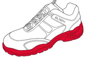 Normgerecht: Modelle wie der Lowa Colorado Work GTX Mid S3 sind für die orthopädische Zurichtung gemäß BGR 191 zugelassenFotos: Elton GmbH
