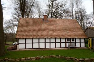 """Das Backhaus dient nach der Sanierung dem örtlichen Kulturkreis als Treffpunkt <span class=""""bildnachweis"""">Fotos: Huckenbeck</span>"""