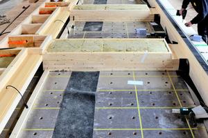 """Die Vorfertigung der Fassadenteile fand im Brüninghoff-Werk in Heiden statt<span class=""""bildnachweis"""">Fotos: Brüninghoff</span>"""