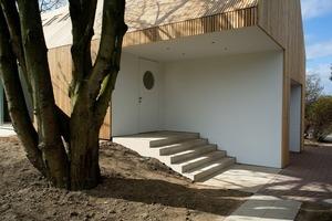 Das Haus B in Bückeburg erhielt ebenfalls beim Holzbaupreis Niedersachsen eine Anerkennung