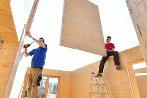 Durch die modulare Holzbauweise konnte das Gebäude nach kurzer Zeit seiner Bestimmung übergeben werden <br />