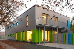 Die Kita Kleine Gallier in Hannover belegte beim Holzbaupreis Niedersachsen den zweiten Platz