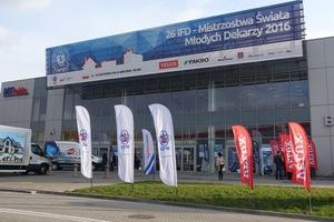 Warschau, Polen: hier fand die Weltmeisterschaft der jungen Dachdecker statt, ausgerichtet von der internationalen Föderation des Dachdeckerhandwerks