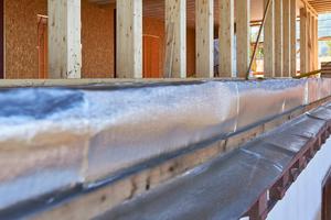 Neues, auf dem OG, erstelltes Dachgeschoss in HolzständerbauweiseFoto: Wienerberger/Sven-Erik Tornow