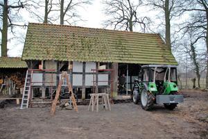 Das verträumte alte Backhaus in Lienen-Kattenvenne vor der Restaurierung