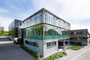 """Das """"House of Natural Resources"""", ein Projekt der ETH Zürich von außen  <br />"""