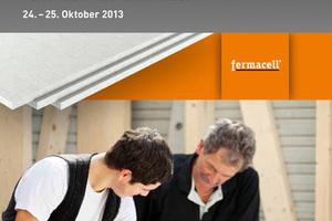 """Ein detailliertes Programm der Holzbau-Tage mit den Vortragsthemen aller Referenten kann im Internet unter <a href=""""http://www.fermacell.de"""" target=""""_blank"""">www.fermacell.de</a> heruntergeladen werden"""